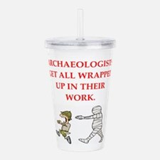 archaeology Acrylic Double-wall Tumbler