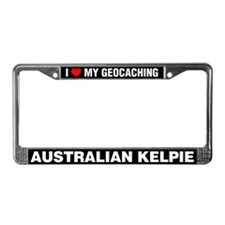 I Love My GeoCaching Australian Kelpie
