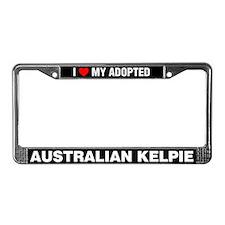 I Love My Adopted Australian Kelpie