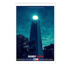 Sandy Hook Light. Postcards (package Of 8)
