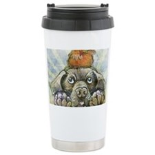 The Chicken and the Dog Travel Mug