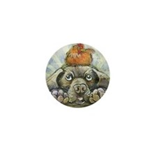The Chicken and the Dog Mini Button