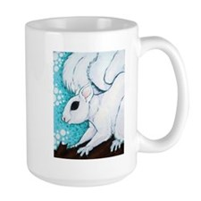 White Squirrel Mugs