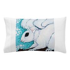 White Squirrel Pillow Case