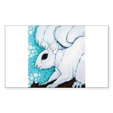 White Squirrel Decal