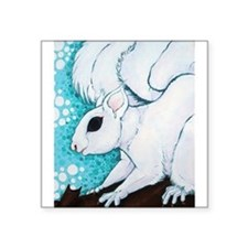 White Squirrel Sticker