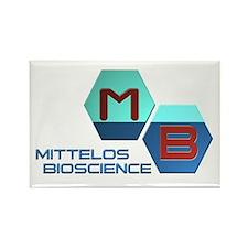 Mittelos Bioscience Rectangle Magnet (10 pack)