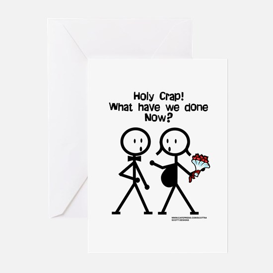 Holy Crap! What Have We Done? Greeting Cards (Pack