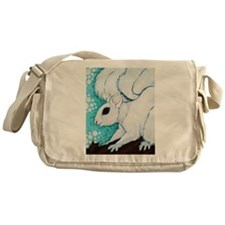 White Squirrel Messenger Bag