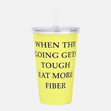 fiber Acrylic Double-wall Tumbler