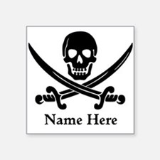 Custom Pirate Design Sticker