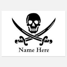 Custom Pirate Design Invitations