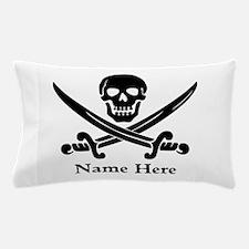 Custom Pirate Design Pillow Case