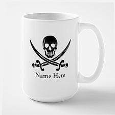 Custom Pirate Design Mugs