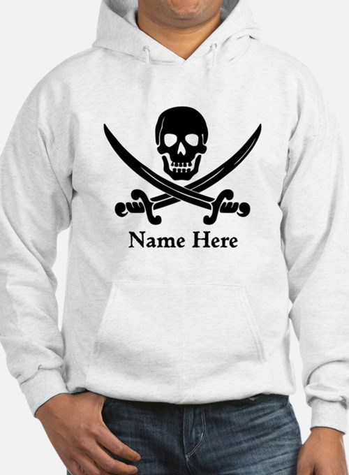 Custom Pirate Design Hoodie