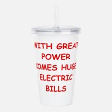 POWER.png Acrylic Double-wall Tumbler