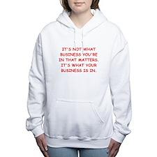BUSINESS Women's Hooded Sweatshirt