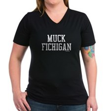 2-Muck Fichigan White T-Shirt