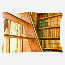 The library contains volumes hundreds  Pillow Case