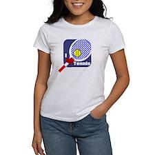 I Love Tennis Tee
