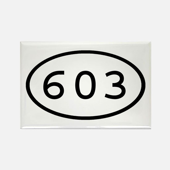 603 Oval Rectangle Magnet