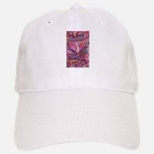 Pink Cancer Angel Baseball Baseball Cap