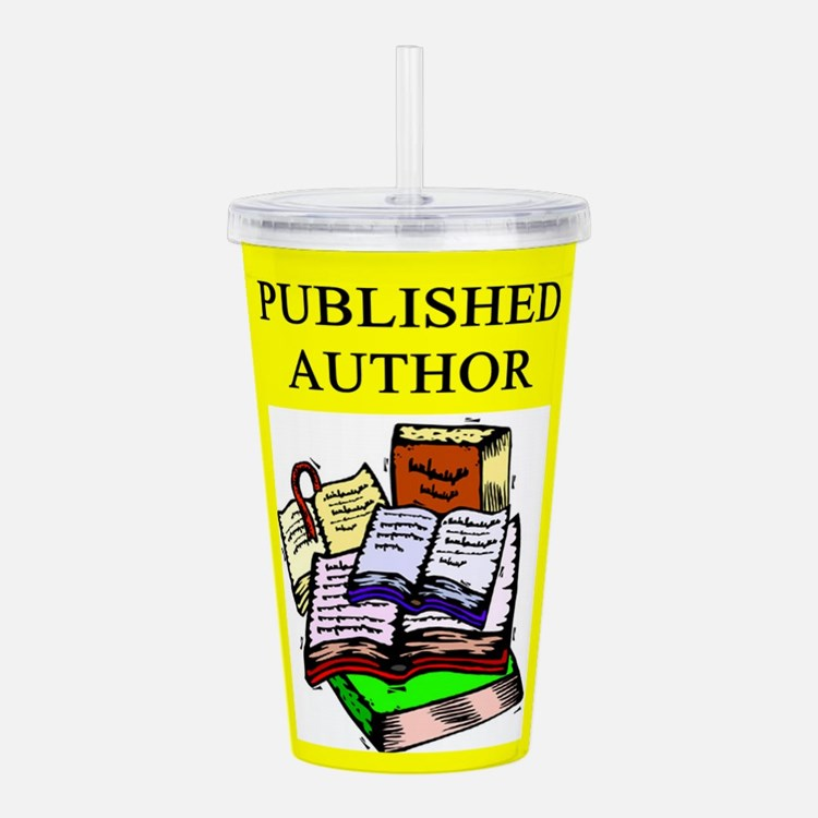 geek published author gifts t-shirts Acrylic Doubl