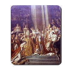 Painting of the Coronation of Napoleon & Mousepad