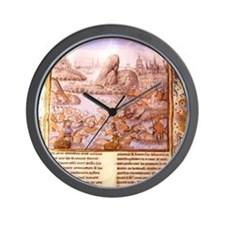 Life of Alexander the Great. Greek army Wall Clock