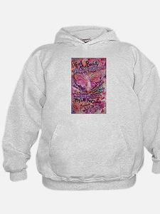 Pink Cancer Angel Hoodie
