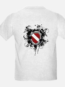 SCUBA Shield (Grunge) T-Shirt