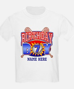Baseball 7th Birthday T-Shirt