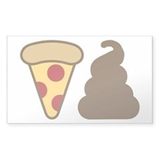 Pizza Poop Decal