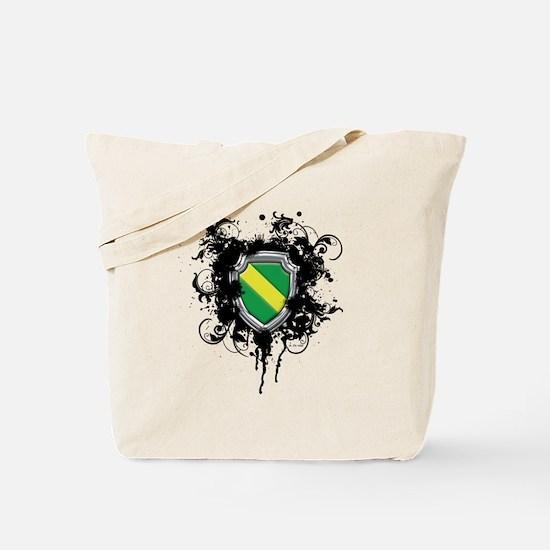 Nitrox Dive Shield (Grunge) Tote Bag