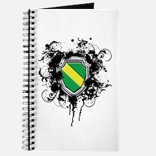 Nitrox Dive Shield (Grunge) Journal
