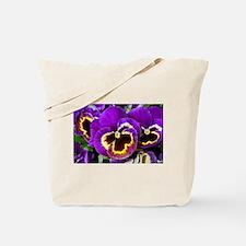 Cute Pansy flower Tote Bag