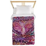 Breast cancer Twin Duvet Covers