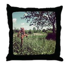 Grassy Knoll Throw Pillow