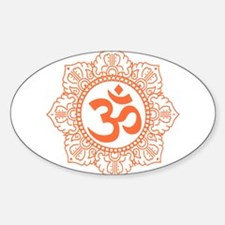 OM Flower Decal