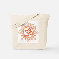 OM Flower Tote Bag