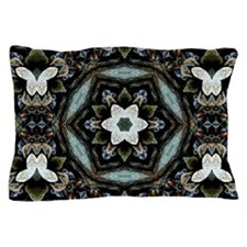 Boho Flower Pillow Case