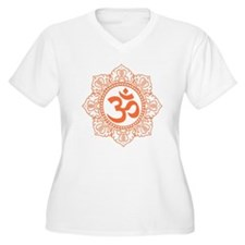 OM Flower Plus Size T-Shirt