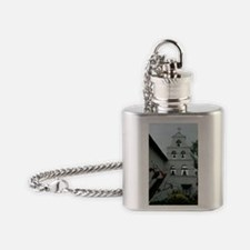Cute California mission Flask Necklace
