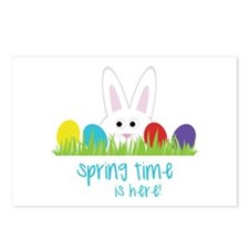 Spring Time Is H-er-e! Postcards (Package of 8)