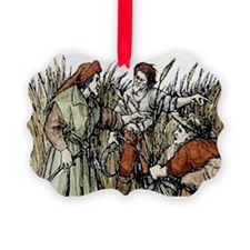 Ruth in cornfield seen by Boaz, 1 Ornament