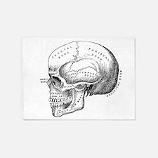 Anatomical 5'x7'Area Rug