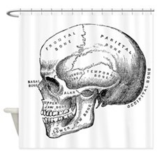 Anatomical Shower Curtain