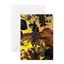 The invasion Greeting Cards