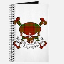 Maxwell Tartan Skull Journal