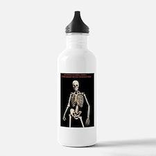 Chiropractic tshirt Water Bottle
